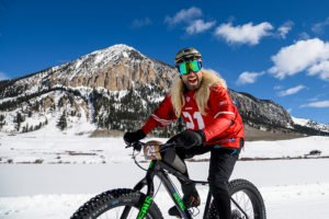 dress up and fat bike